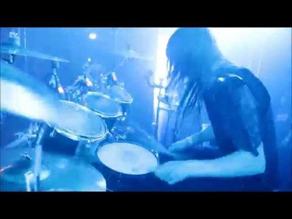 Nils Dominator Fjellström - Dark Funeral - When Angels forever Die (Drumcam)