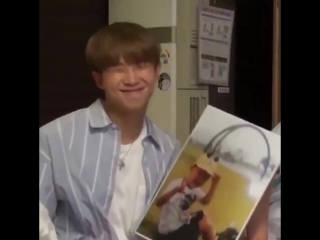 joons reaction to his baby photo he's beyond precious.mp4