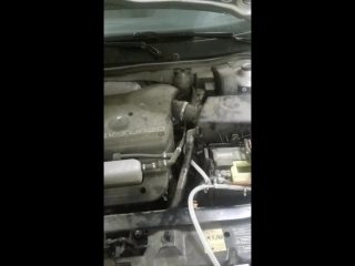 Skoda Octavia turbo 1,8 Очистка двигателя водородом H2