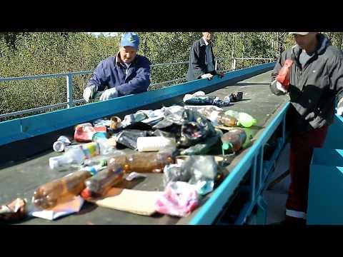Запуск мусоросортировочной линии ВТОРТЕХ-60 в г. Десногорск (Линия сортировки ТКО, ТБО) втортех.рф