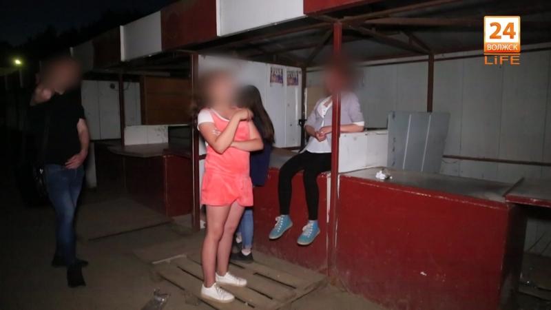 Подростковая преступность в Волжске (видео).