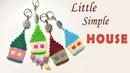 Stir your childhood with Little simple house macrame tutorial - Thắt dây móc khóa hình ngôi nhà nhỏ