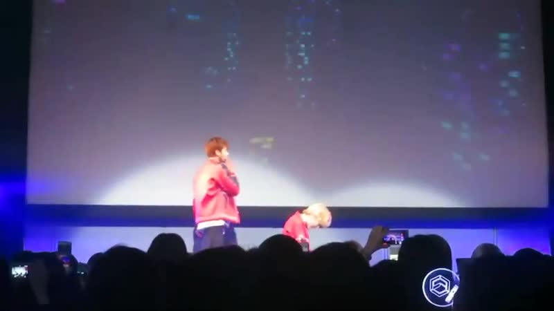 FANCAM 181118 LUCENTE DEBUT SHOWCASE in JAPAN @ harajuku quest hall cr ME NKNL