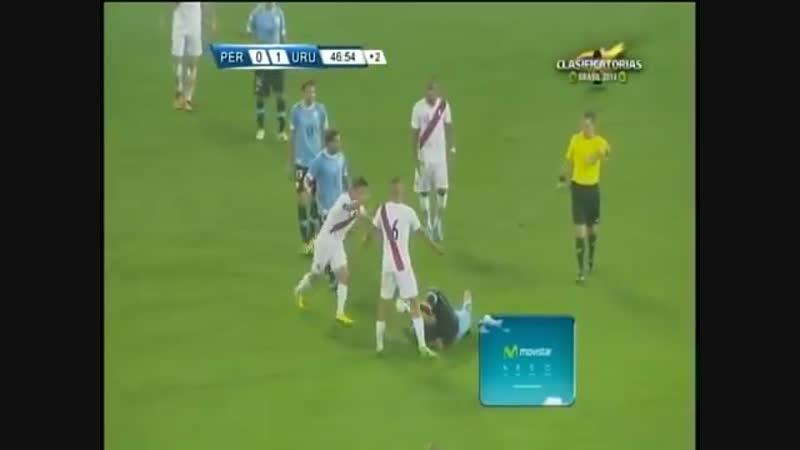 PERÚ vs URUGUAY 1 2 ELIMINATORIAS BRASIL 2014, 06.09.2013 GOLES CMD HD [VDownloader]