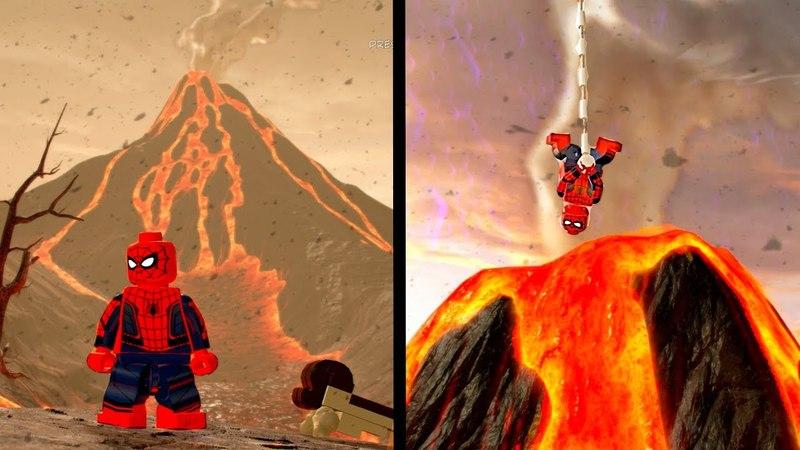 LEGO Marvel Super Heroes 2 Drop Spider-Man into a Volcano