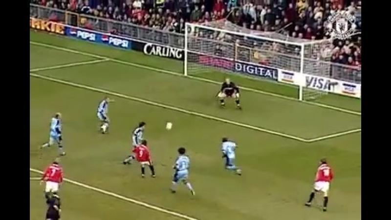 Andy Cole Best Goal MU