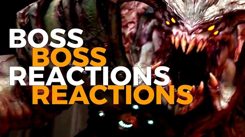 Boss Reactions | Doom 2016 | Cyberdemon » Freewka.com - Смотреть онлайн в хорощем качестве