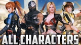 DEAD OR ALIVE 6 All 18 Characters So Far Gameplay PS4, XB1, PC 2019