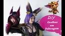 Tutorial Cosplay - Orelhas Simples - League of Legends Xayah, Gnar e mais