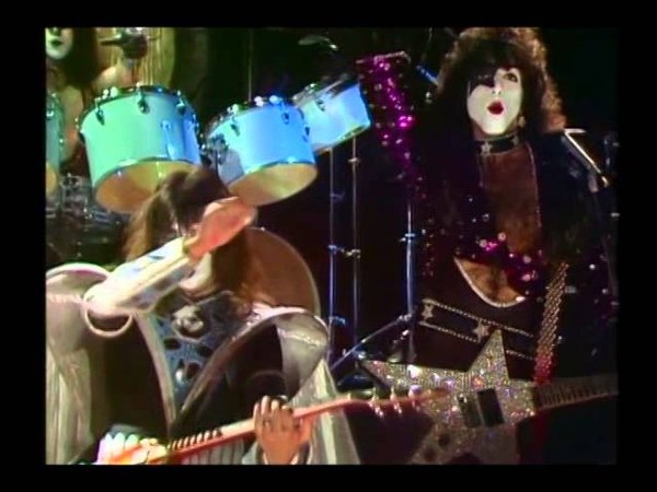 KISS She's So European and Talk To Me live TV performance 1980