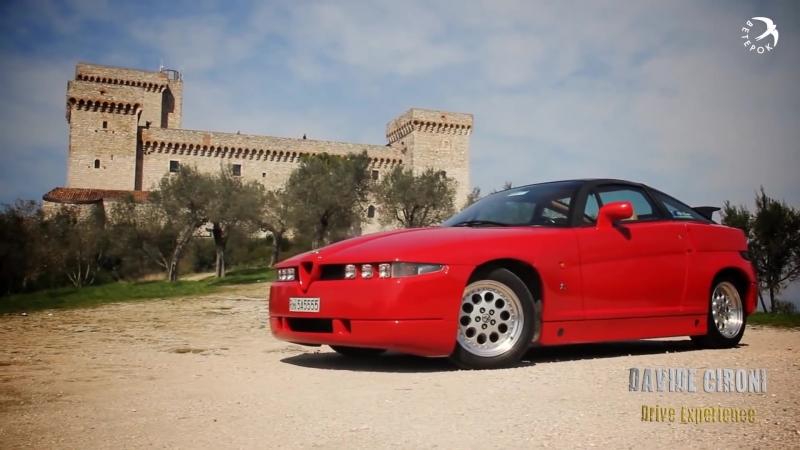 Alfa Romeo SZ Драйверские опыты Давида Чирони
