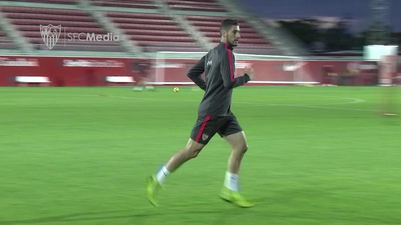 El Sevilla FC ha vuelto a los entrenamientos sin la presencia de los internacionales