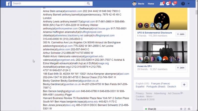 QNEXXUS :Le leak du Fbi avec adresse de Hillary Clinton, SOROS, AL GORE et les CEO des medias mainstream