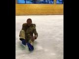 Шоумания: Татьяна Навка не удержалась на коньках и получила травму