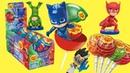 герои в масках 2 новая серия чупа чупс игрушки сюрпризы из конфет кэтбой алет геко чупс