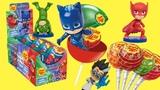 герои в масках 2 новая серия чупа чупс игрушки сюрпризы из конфет #кэтбой #алет #геко #чупс