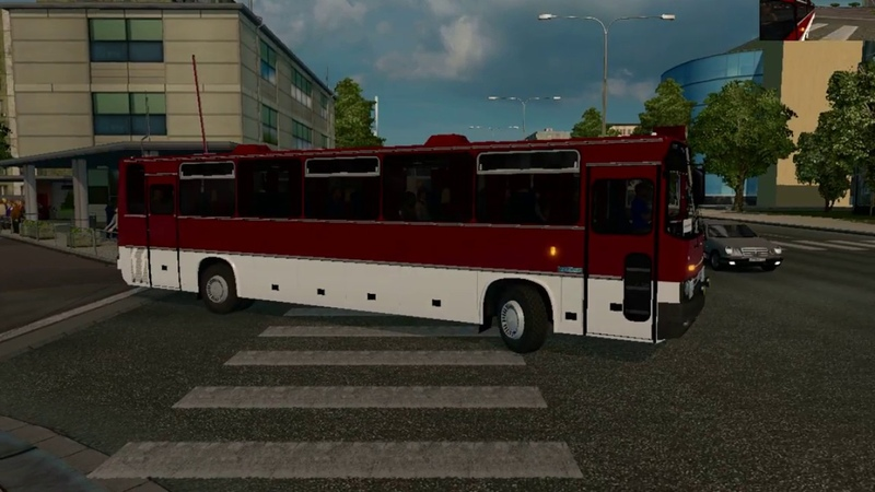 Теперь это Икарус Эксклюзивный мод Ikarus 250 59 для ETS 2 смотреть онлайн без регистрации