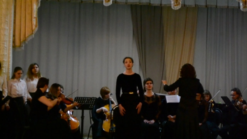 Отчётный концерт :Вокального отделения Stabat mater(5)