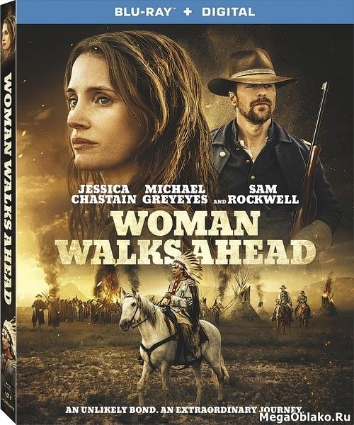 Женщина идет впереди / Woman Walks Ahead (2017/BDRip/HDRip)