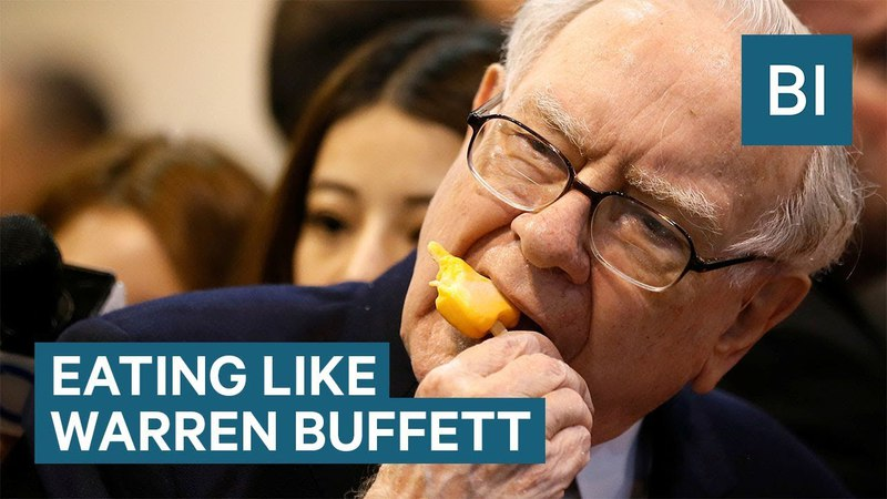 I ate like billionaire Warren Buffett for a week and I felt awful
