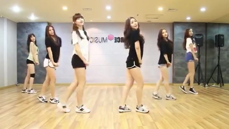 GFRIEND - Me gustas tu - mirrored dance practice video - 여자친구 오늘부터 우리는 (1)