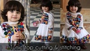 Gathered Baby Tunic Top Cutting Stitching in Hindi   Easy Sewing Tutorials