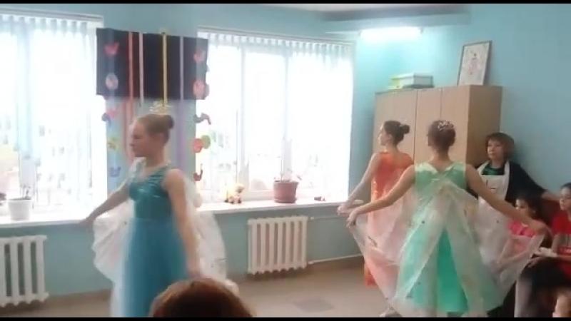 Пасхальный концерт в детской больнице! Выступает детская балетная студия Гармония