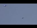 Уклонившийся от огня боевиков российский Су 25 попал на видео