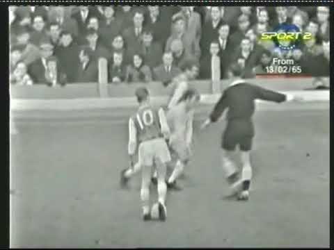 1965 02 13 Arsenal Leeds United