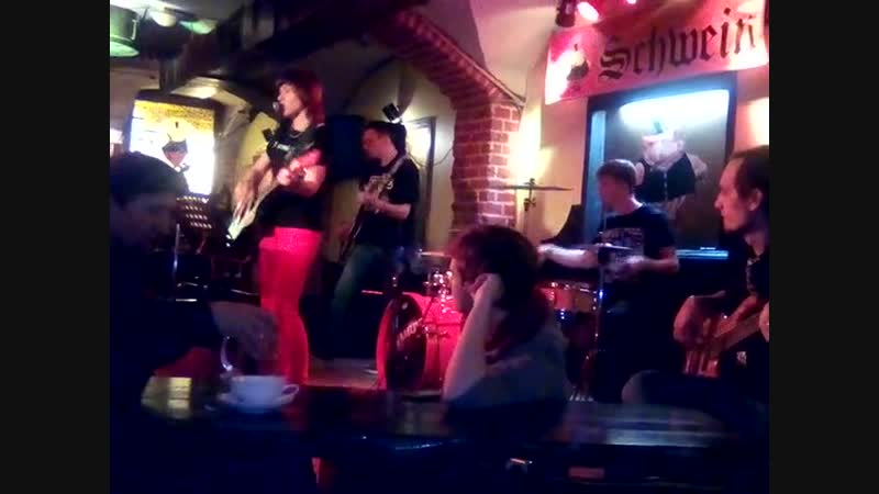 Группа ВераРа - С нуля (рок-вечер в клубе Швайн, 04.11.18)