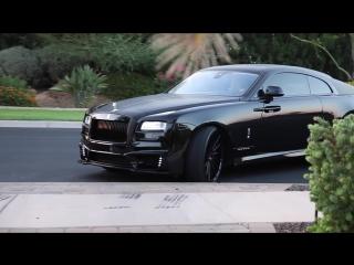 Rolls-Royce Wraith. Black Bison