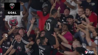 Sick play by Wayne Rooney!!! DC United win in stoppage time!!