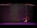4 турнир студии Pole Dance Style. Pole Art - продвинутые. Цыбульская Дарья.