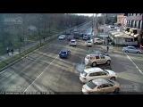 ДТП на ул. Зиповская д.5 09.01.2018
