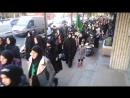 Muslim Hijab women march through the... - Birmingham Patriots UK