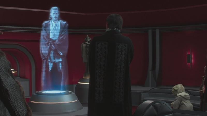 Сообщение Оби Вана Звездные войны Эпизод 2 Атака клонов 2002