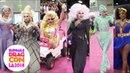 Crowned Queen Runway w/ Bebe, Alaska, Trixie, Sharon, Sasha Jinkx at RuPaul's DragCon 2018: LA