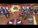 RUS Каст Дэдпул 2 играют в Дэдпульные признания на Доброе утро Америка