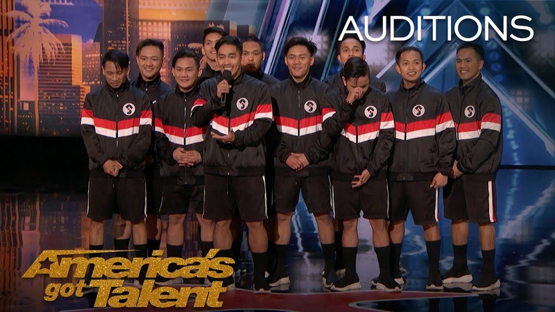 Junior New System: All Male Filipino Dance Group Slay In Six Inch Heels - America's Got Talent 2018