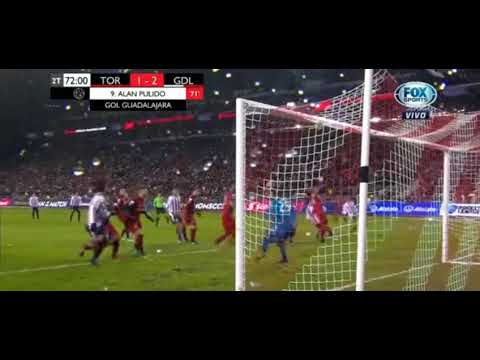 Amazing goal Toronto vs Chivas 1-2 FINAL Concachampions IDA 2018