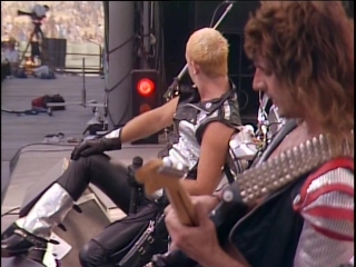 Judas Priest - Hell Bent For Leather (Live At US Festival 1983) [1080p HQ]
