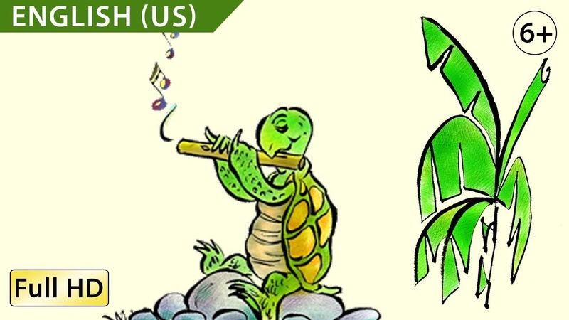 Turtle's Flute: Learn English (US) with subtitles - Story for Children BookBox.com