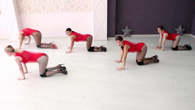 Творческая группа Lady's Bionika гоу-гоу Стрип-пластика Go-Go Strip-plastic Stripdance Go-Go dance В Студии танца и фитнеса Bion