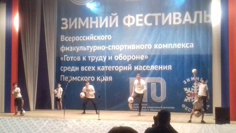 Открытие Зимнего фестиваля ГТО, г. Кудымкар