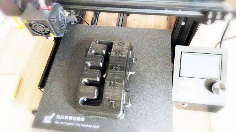 Stels 700D - проект DROVA – Печать накладки на рычаг КПП!