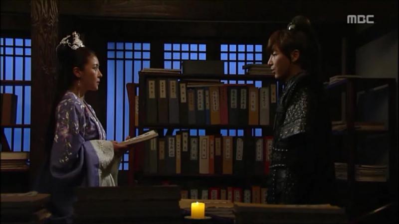 Императрица Ки - тайная встреча Ки Нян с военным советником Талталом в архиве дворца. Секретное образование Тогона