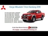 Harga Mitsubishi Triton 2018 Bandung dan Jawa Barat  0811229295
