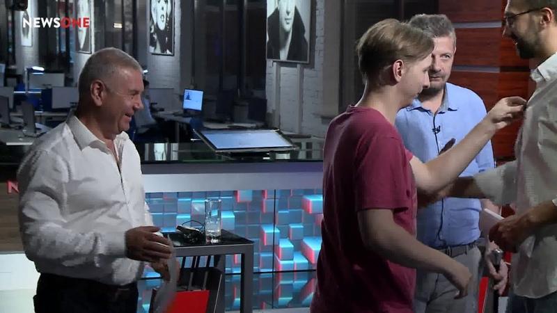 Мосийчук VS Лещенко нардепы выясняют вопрос ориентации после эфира на NEWSONE 10.08.18