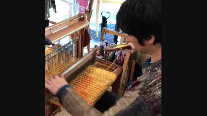 Clasped Weft Weaving, Япония.