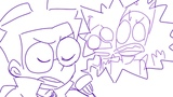 [ANIMATIC] dibs whole family thinks hes gay - Invader Zim